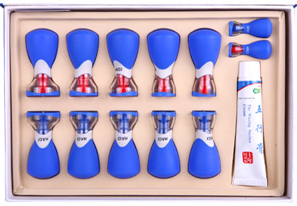 Deluxe HACI Magnetic Suction Set - 12 Cups