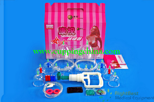 Enlarge Breast Female Cupping Kit 14 Cups