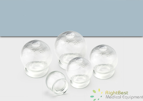Glass Cup For Cupping - ( Medium )