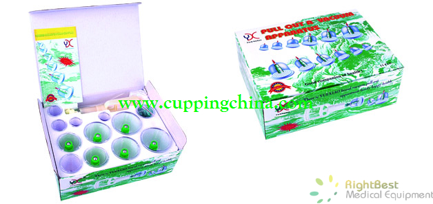 Chinese cupping set 12 cups