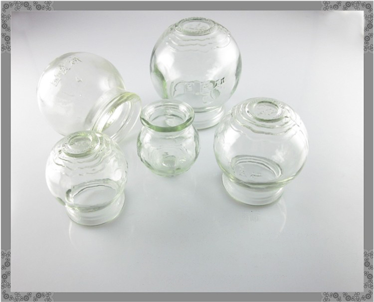 GuoYiYan Extra Strong Glass Cupping Jar 5 cups