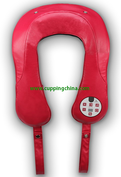 Audio sync tapping massage belt with earphone