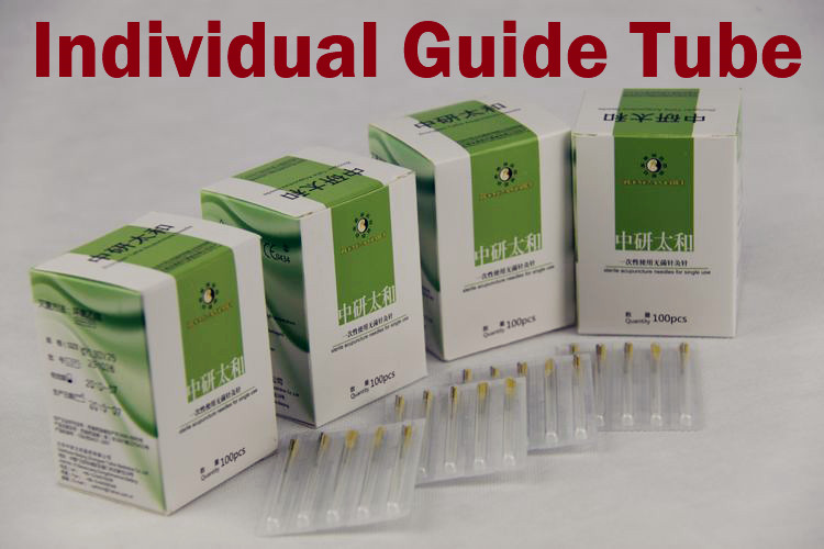 Acupuncture Needle With Individual Tube