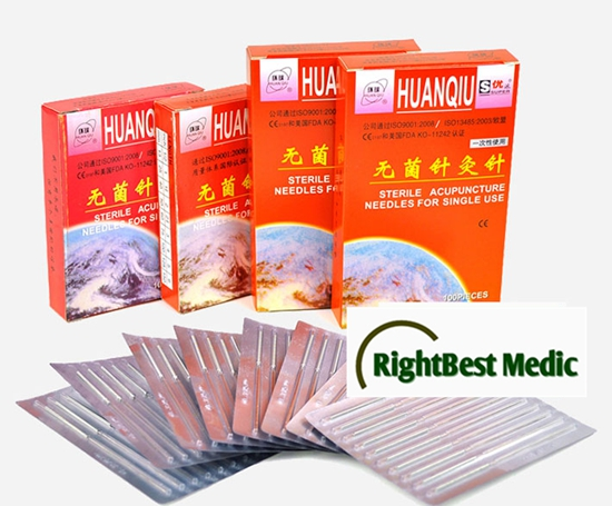 HuanQiu Acupuncture Needles Without Tube