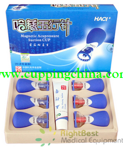 Deluxe HACI Magnetic Suction Set - 6 Cups